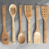 Bamboo Wooden Kitchen Utensil Set