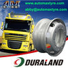 22.5 Steel Wheel Rim for Commercial Truck Tires