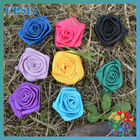 beautiful rose small ribbon flower many color you can choose