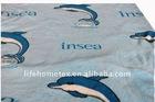 100%Polyester Animals Print Coral Fleece Blanket