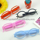 Eye Glasses Shape and Durable Sweety Ball Point Pen for Ad. Writing