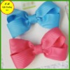 Fine ribbon bow barettes for girls / kids hair accessories (FB013440)