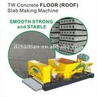 Prestressed concrete Hollow Core Slab Machine TW120*900