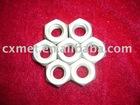 DIN 934 Gr2 M10 titanium nuts