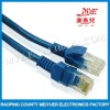 Blue cat5e utp fiber patch cord