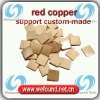 red copper heat sink copper / cooling copper / thermal copper for 20*20*1.5mm support custom-made