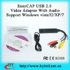 EasyCAP 1 Channel USB 2.0 video adapter with audio