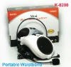 Hot Selling Mini Portable Waistband Megaphone K8200-White
