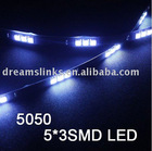 30cm three core 5050 SMD Car LED strip light LED flexible Light 15 SMD LED