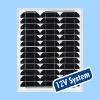 35W monocrystalline solar panel