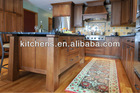 Solid Wood Classical Kitchen Furniture in Standard Size