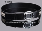 Designer brand new arrival genuine leather black belts