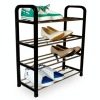 4 Layer Living Rome Plastic Shoe Rack