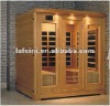 top popular far infrared carbon heater sauna 813