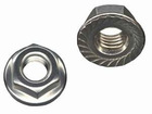 DIN6923 Nylon Insert Lock Nut With serrated Flange from dongguan factory