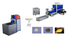 PE Granules Foam Recycling Machine With Inverter Control
