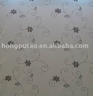 Spangle embroidery design of roller blind fabric