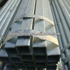 ASTM A500 hot dipped galvanized steel square tube
