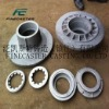 Cast iron for machine and auto parts with mechanical treatment from sand castiong or continuous casting