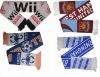 Custom Acrylic Knitted Soccer scarf