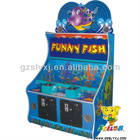 Funny fish indoor amusement kids hammer game machine