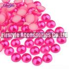 High Quality ABS/Plastic Half Pearl Beads (Peach)