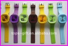 oem silicone jelly watch