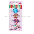 Color Binder Clip---metal paper clip