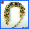 New style jewelry crystal beaded bracelet hand chain for men