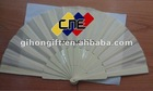Yiwu wholesale Chinese plastic hand fan with logo