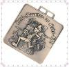 Cemi 3D Antique Square Medal