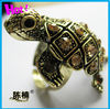 Elegant fashion crystal zinc alloy ring