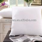 plain white hotel 100% cotton cushion inner