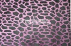 """100% Polyster fabric animal design animal printed with """"s"""" wave"""