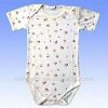 Cheap cotton printing pattern rompers baby clothes