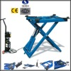 Movable Scissor hydraulic car lift 2000KGS 1000mm QDSH-S2010