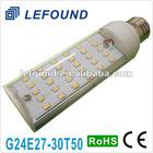 G24 led bulb (PL) 24 SMD5050 White