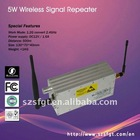 5W Microwave Wireless AV Repeater