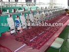 TFI-615+15Cording/Coiling/Tapping and single sequin mixed computerized embroidery machine