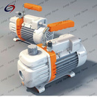 SINGLE/DOUBLE-STAGE OIL-ROTARY VANE VACUUM PUMP