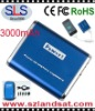 3000mAh Portable Power Bank, Battery Charger for iPhone,iPad,iPod,Blackberry,Digital camera,PSP... SLS-P02