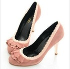 Pink Dress party leather lady shoes