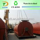 2013 newest technology waste tyre to diesel machine welcome in Turkey