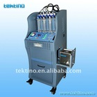 CE Certified, Tektino INJ-6A Ultrasonic Injector Cleaner with trolley