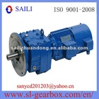 Flange Mounted Inline Helical Gear Reduction Motor (RF17-167)