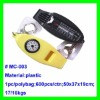Low price 3 in 1 Promotion/camping key finder alarm whistle