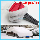 Ice Scraper with Warm Glove ABS Auto Vehicle Car Snow Brush Shovel Frost Remover Clean Tool Accessory