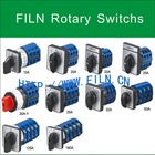 FILN Exactly working rotary switch 12 position AC 400V 200A