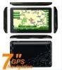 "7"" 7inch gps gps navigation touch screen av in bt mp3 mp4 hot"