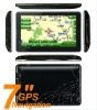 "7"" 7inch gps gps navigation touch screen av in bt mp3 mp4 hot"